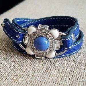"LIA SOPHIA - ""UNDER WRAPS"" leather bracelet"